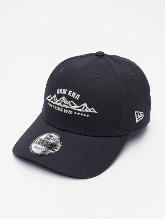 New Era Snapback Cap NE Camp 9Forty blau