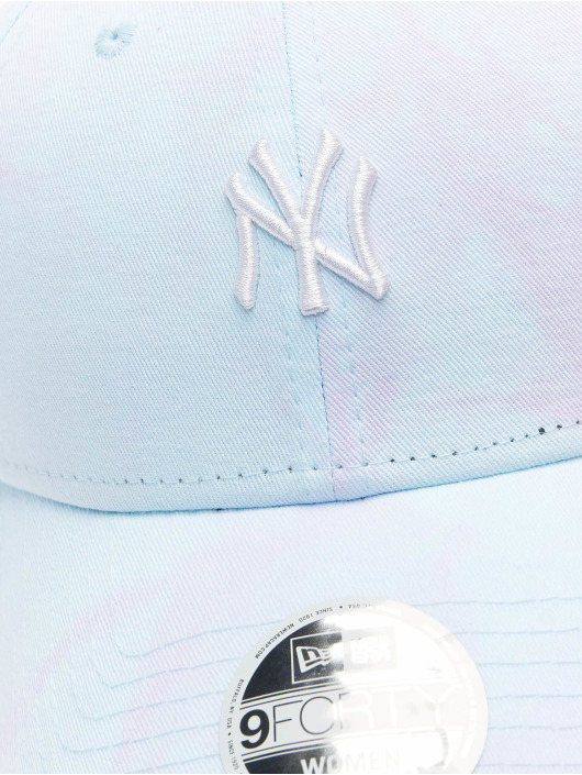 New Era Snapback Cap MLB New York Yankees Womens Tie Dye 9Forty blau
