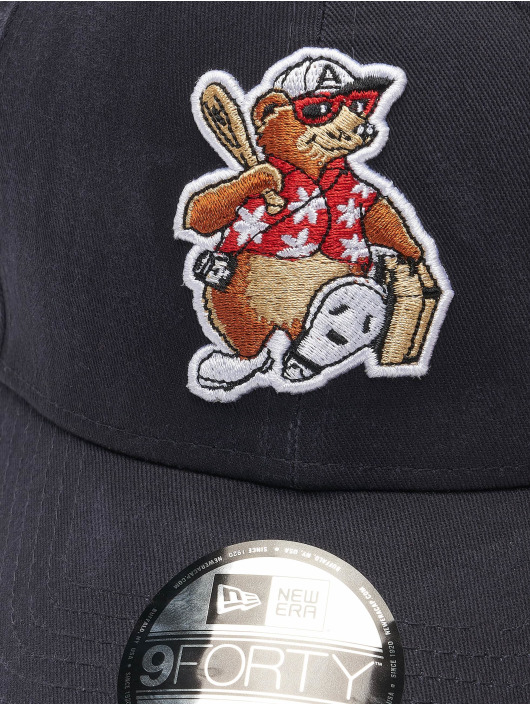 New Era Snapback Cap Minor League Ashville Tourists Logo blau