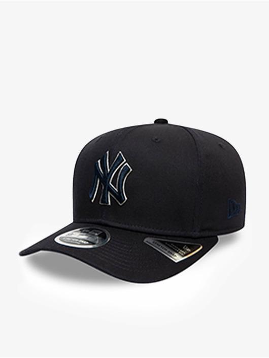 New Era Snapback Cap MLB New York Yankees Team Outline 9Fifty Stretch blau