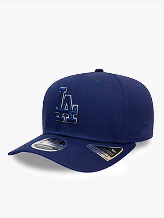 New Era Snapback Cap MLB Los Angeles Dodgers Team Outline 9Fifty Stretch blau