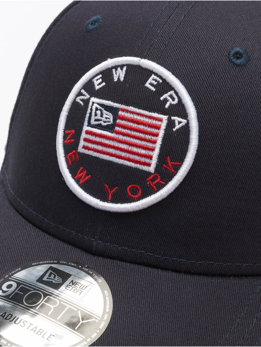 New Era snapback cap Heritage 9Forty blauw