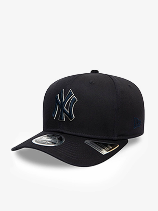 New Era snapback cap MLB New York Yankees Team Outline 9Fifty Stretch blauw