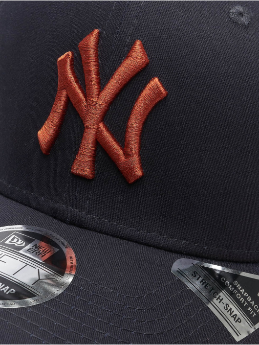 New Era Snapback Cap MLB NY Yankees League Essential blu