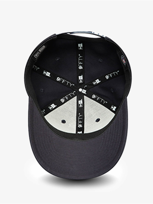 New Era Snapback Cap MLB New York Yankees Team Outline 9Fifty Stretch blu
