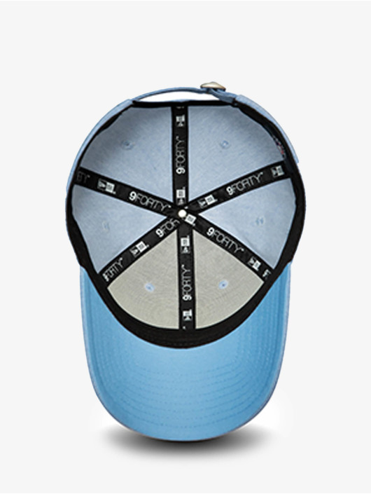 New Era Snapback Cap MLB Los Angeles Dodgers Chambray 9Forty blu