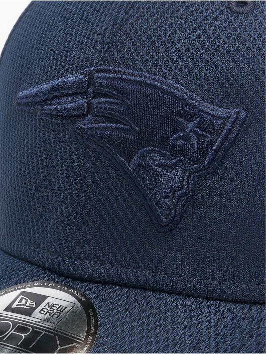 New Era Snapback Cap MLB New England Patriots Mono Team Colour 9Forty blue