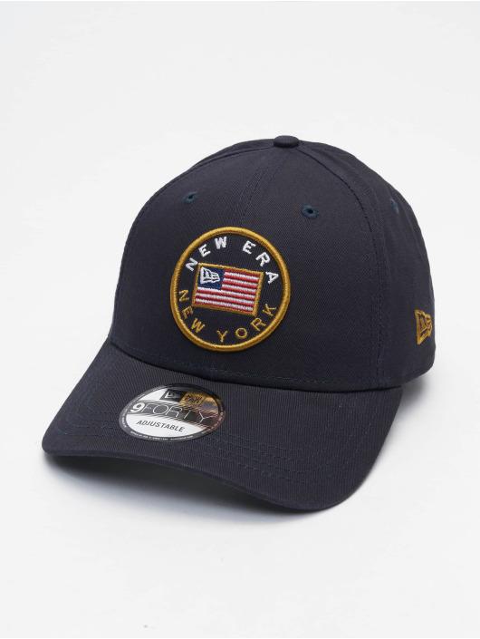 New Era Snapback Cap 9Forty Flagged blue