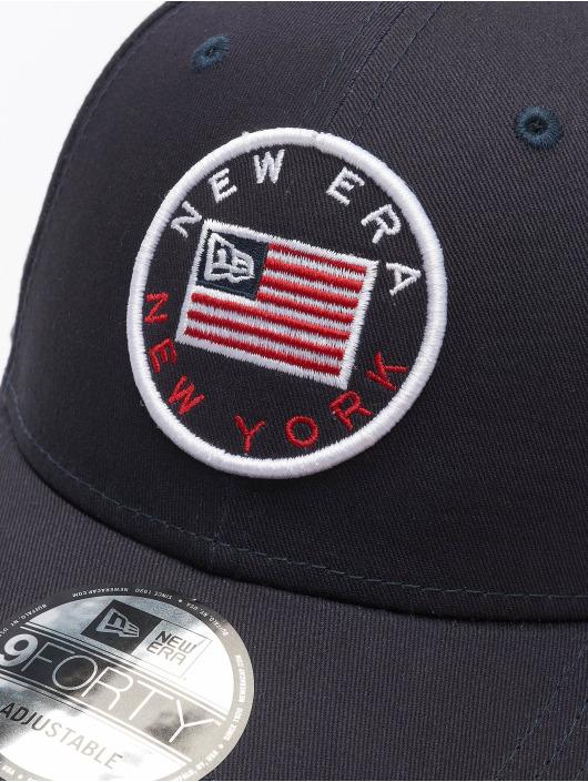 New Era Snapback Cap Heritage 9Forty blue