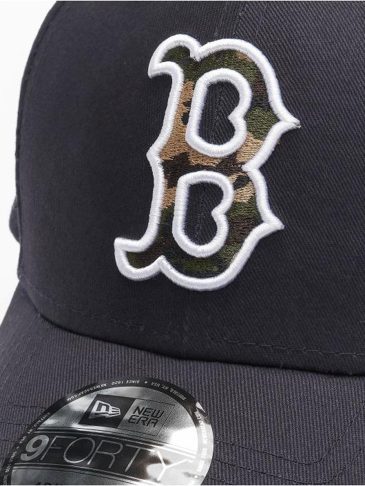 New Era Snapback Cap Mlb Properties Boston Red Sox Camo Infill 9forty blue