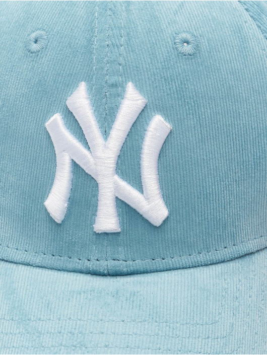 New Era Snapback Cap MLB New York Yankees Womens Cord 9Forty blue