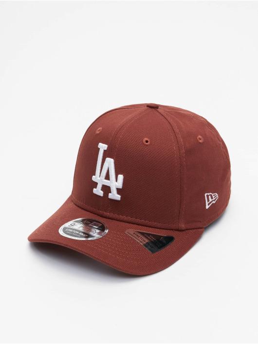New Era Snapback Cap MLB Los Angeles Dodgers League Essential 9Fifty brown