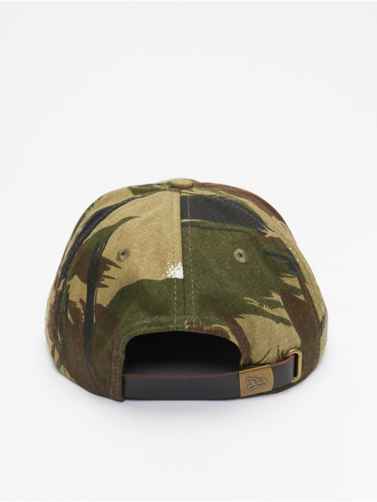 New Era Snapback Cap Camo Ripstop Retro Crown 9Fifty camouflage