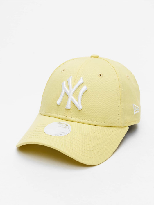 New Era Snapback Cap MLB NY Yankees League Essential 9Forty gelb