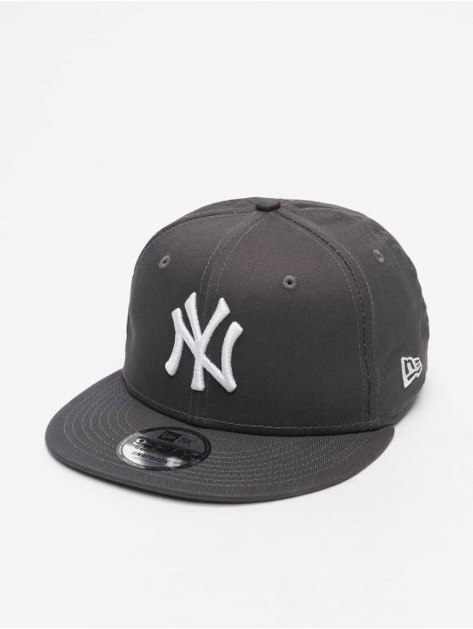 New Era Snapback Cap MLB NY Yankees Essential 9Fifty grau