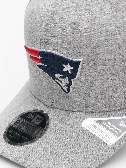 New Era Snapback Cap NFL New England Patriots Heather Base 9Fifty grau