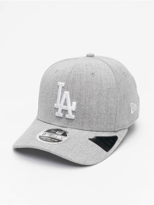 New Era Snapback Cap MLB LA Dodgers Heather Base 9Fifty grau