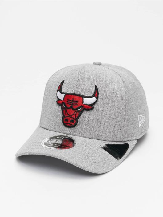 New Era Snapback Cap NBA Chicago Bulls Heather Base 9Fifty grau