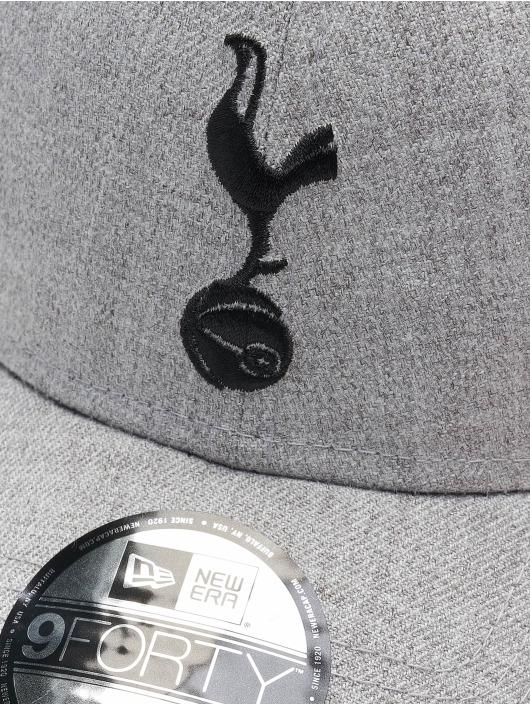 New Era Snapback Cap 9Forty Heather Tottenham Hotspur FC Tothot grau