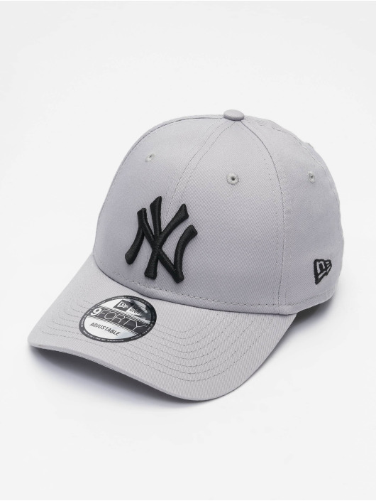 New Era Snapback Cap Colour Ess New York grau