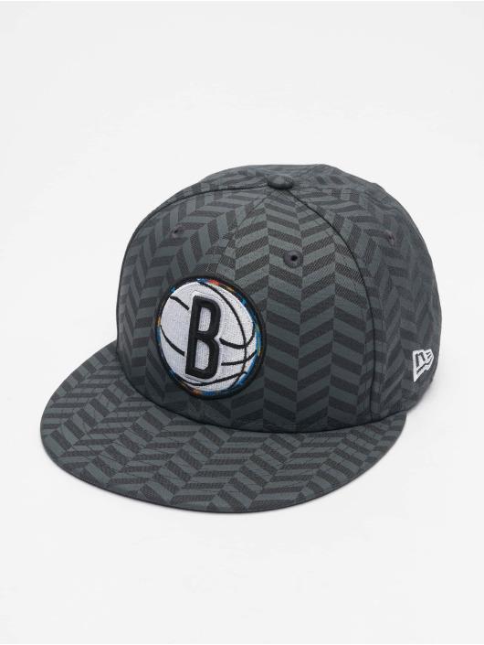 New Era Snapback Cap NBA20 Brooklyn Nets City Alt EM 9Fifty grau