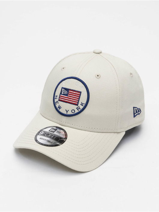 New Era Snapback Cap US Flag Pack 9Forty grau