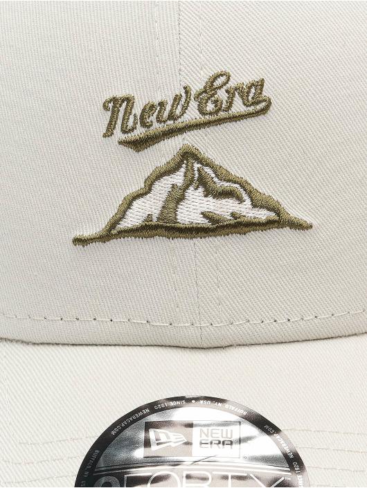 New Era Snapback Cap NE Camp grau