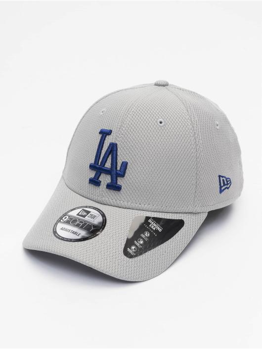 New Era Snapback Cap MLB Los Angeles Dodgers ALT Team Diamond Era grau