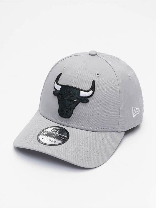 New Era Snapback Cap NBA Chicago Bulls Grayscale grau
