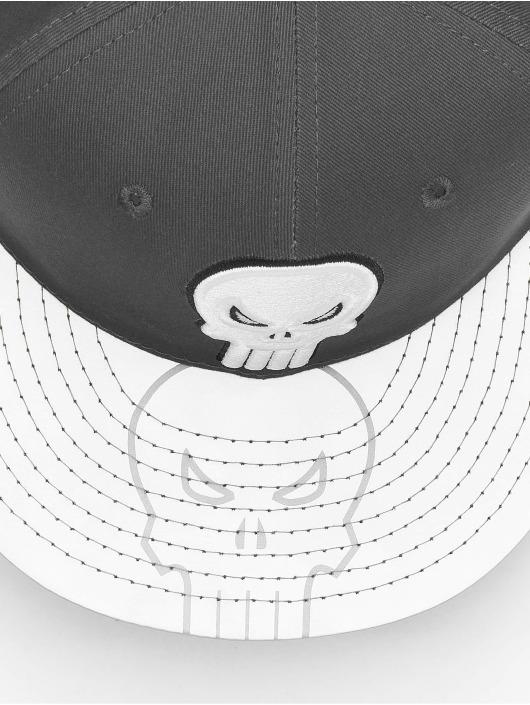 New Era Snapback Cap Reflecto Punisher gray