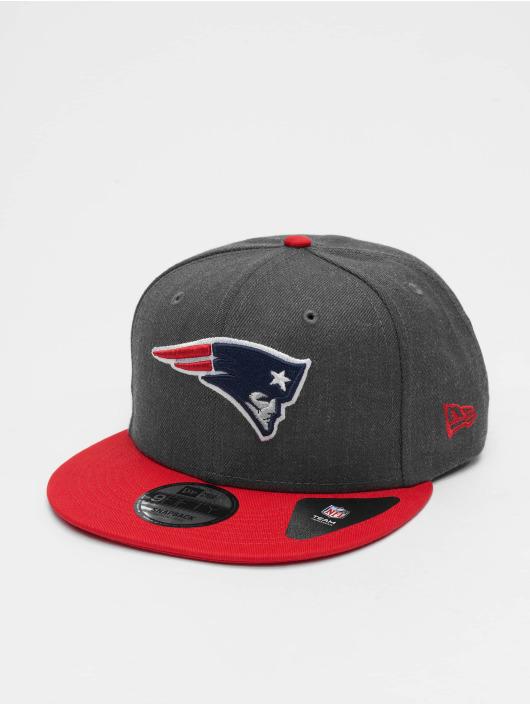 New Era Snapback Cap NFL Heather New England Patriots 9Fifty gray