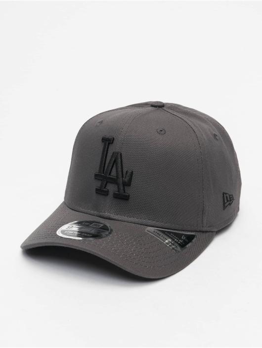 New Era Snapback Cap MLB LA Dodgers League Essential 9Fifty gray