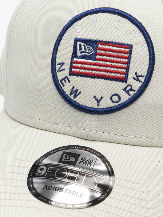 New Era Snapback Cap US Flag Pack 9Forty gray