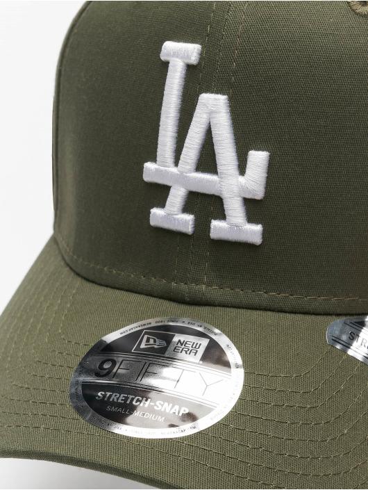 New Era Snapback Cap MLB LA Dodgers League Essential 9Fifty green