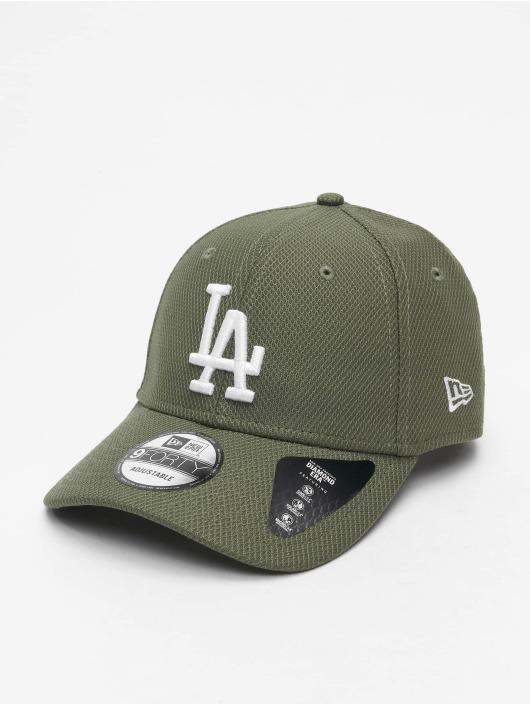 New Era Snapback Cap MLB LA Dodgers Diamond Era Essential 9Forty green