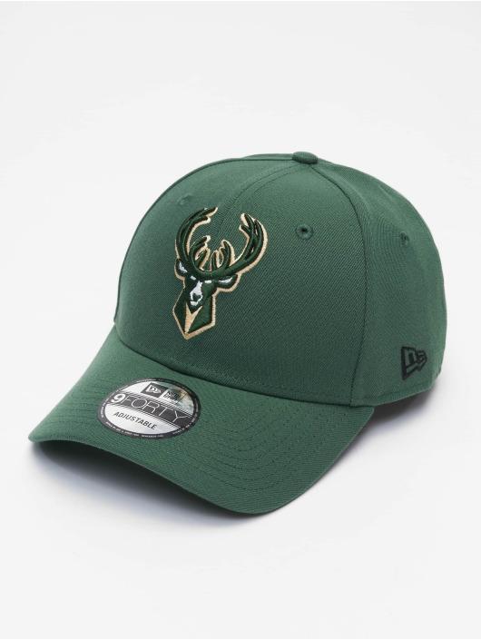 New Era Snapback Cap NBA Milwaukee Bucks The League green