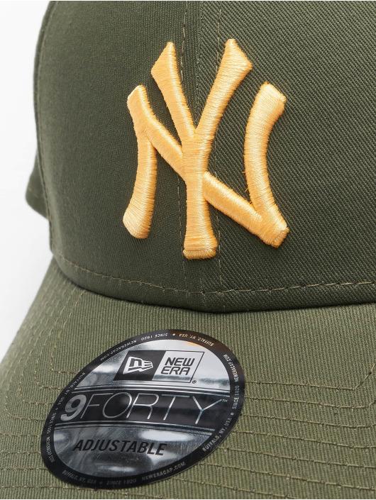 New Era Snapback Cap Colour Ess New York Yankees 9Forty green