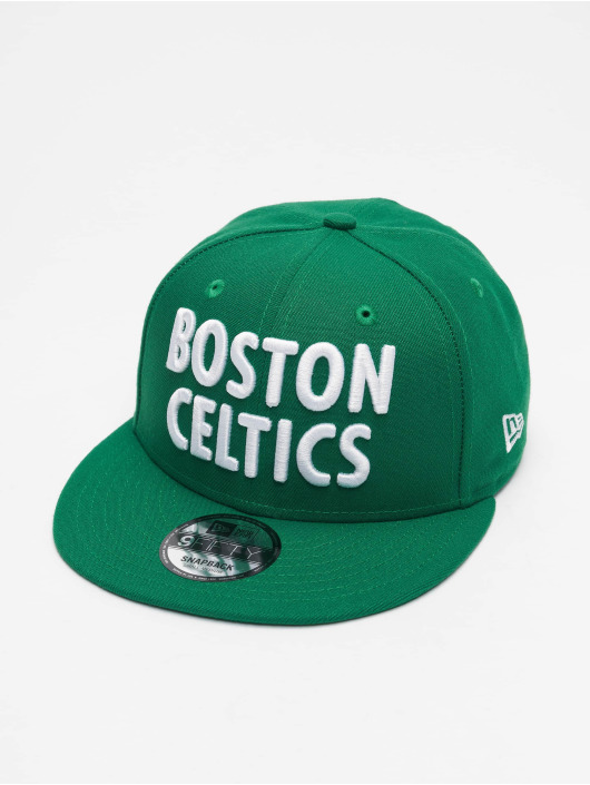 New Era Snapback Cap NBA20 Boston Celtics City Alt EM 9Fifty green
