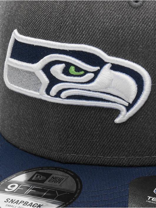 New Era Snapback Cap NFL Heather Seattle Seahawks 9Fifty grey