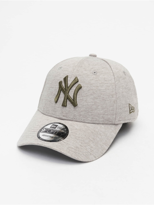New Era Snapback Cap MLB NY Yankees Jersey Essential 9Forty grey
