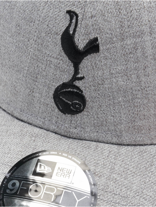 New Era Snapback Cap 9Forty Heather Tottenham Hotspur FC Tothot grey