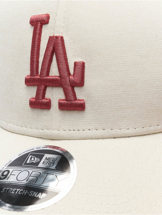 New Era snapback cap MLB LA Dodgers Essential grijs