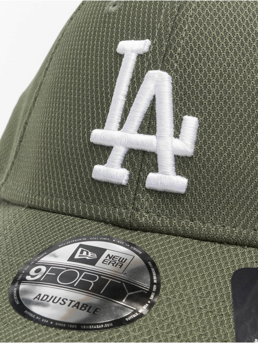 New Era Snapback Cap MLB LA Dodgers Diamond Era Essential 9Forty grün