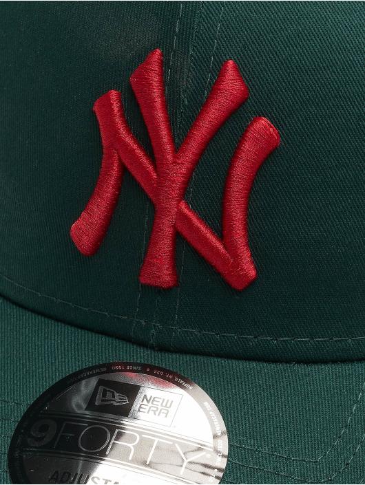 New Era Snapback Cap MLB NY Yankees Essential 9Forty grün