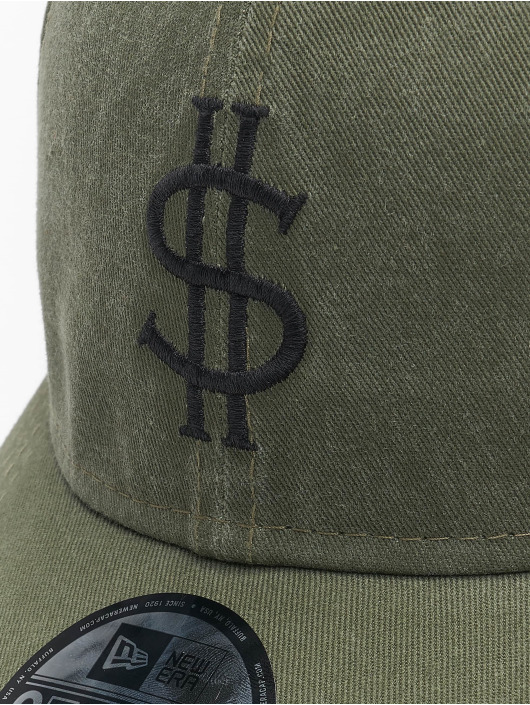 New Era Snapback Cap Dollar Pack 9Forty grün