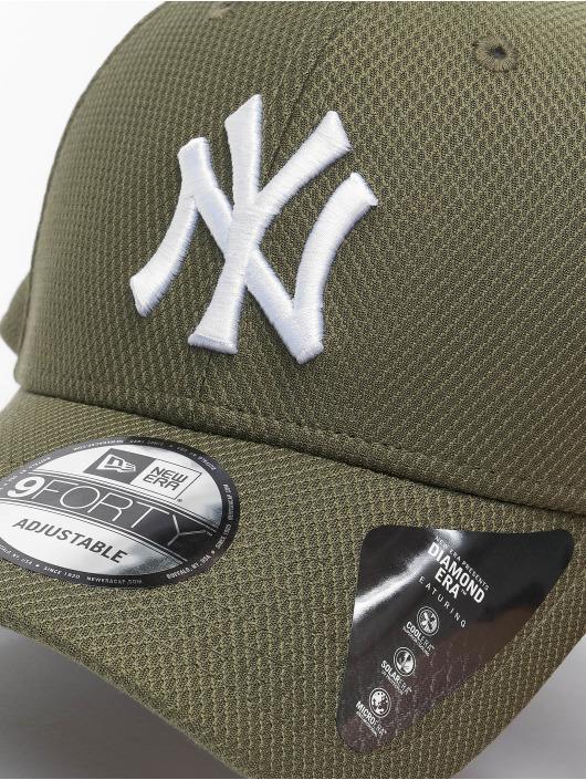 New Era Snapback Cap MLB NY Yankees Diamond Era 9forty grün