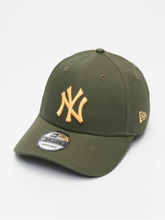 New Era Snapback Cap Colour Ess New York Yankees 9Forty grün