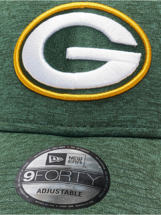 New Era Snapback Cap Nfl Properties Green Bay Packers Shadow Tech grün
