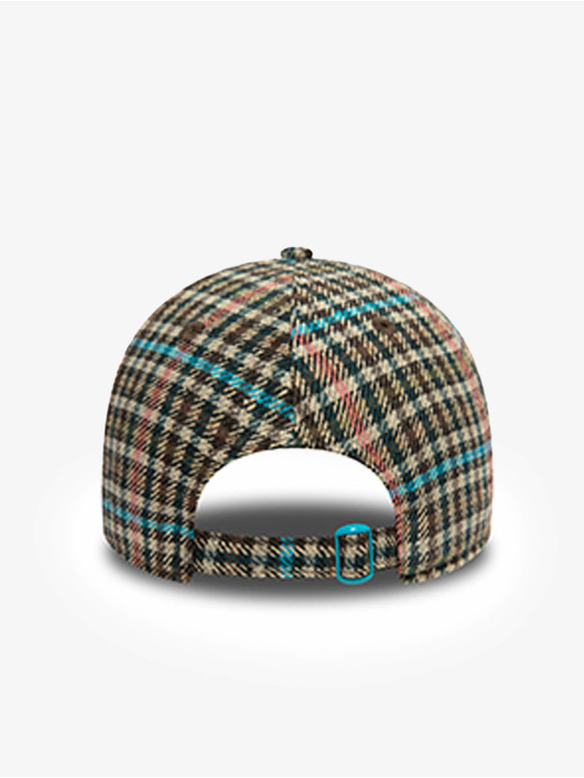 New Era Snapback Cap Check 9Twenty marrone
