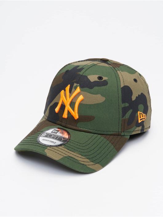 New Era Snapback Cap MLB NY Yankees Camo Essential mimetico